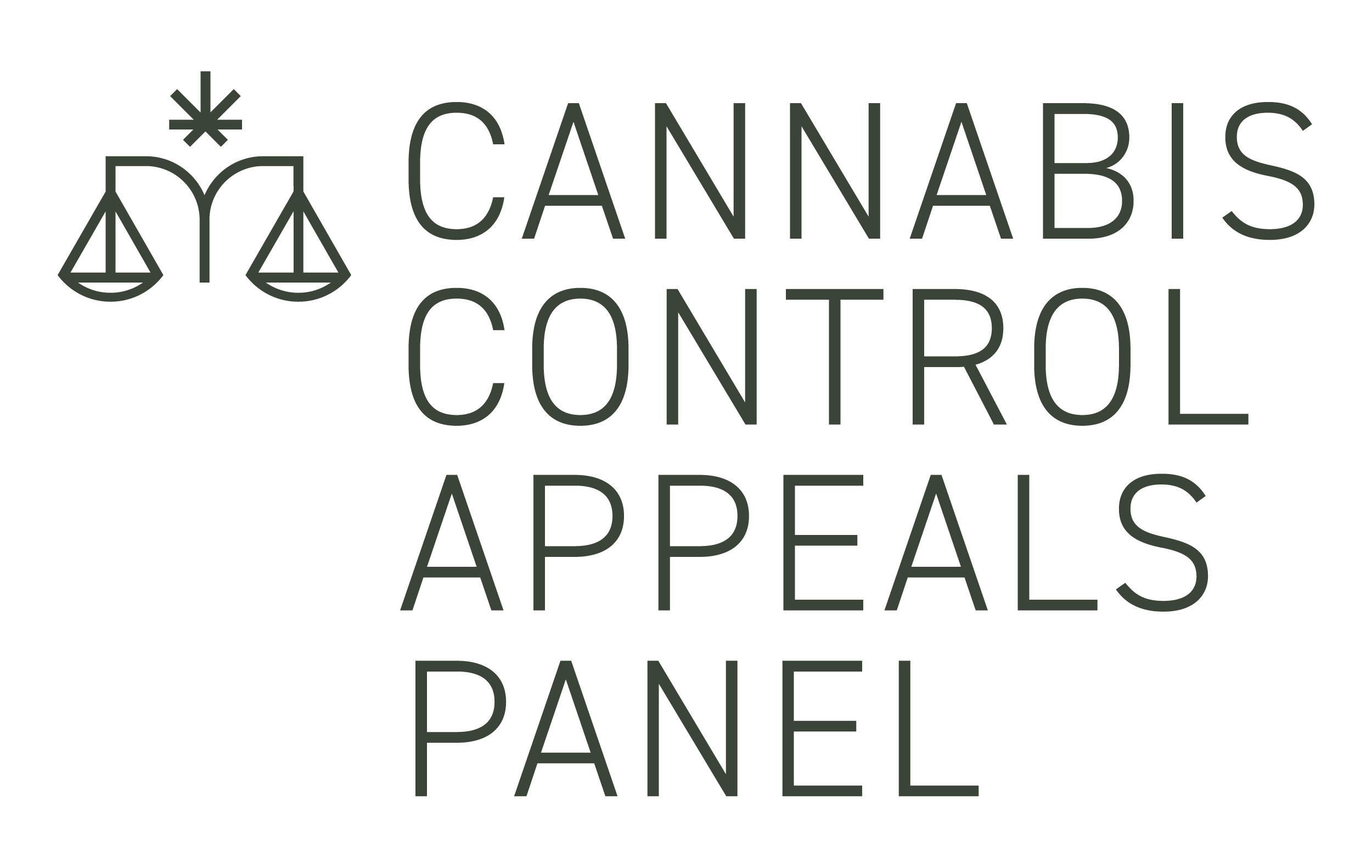 Cannabis Control Appeals Panel Logo - Link to page
